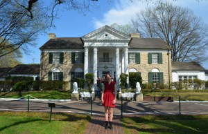 Molly at Graceland