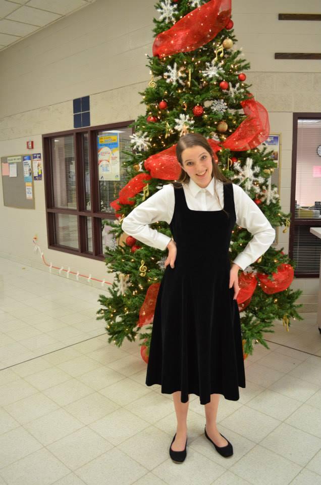 Molly at Holiday Classics