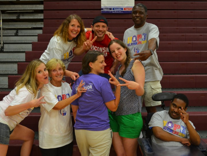 Relay for Life Round 2 — the Laughter Lap