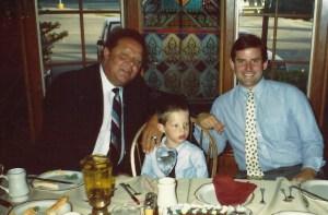 Dad, Charlie, Vince
