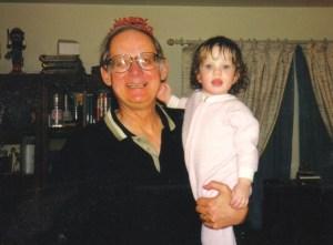 Molly and grandpa vince