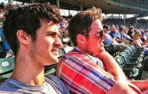 Charlie at the ballpark