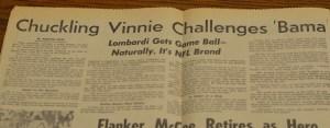 Super Bowl I Chuckling Vinnie