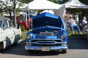 Old Cars 51 blue