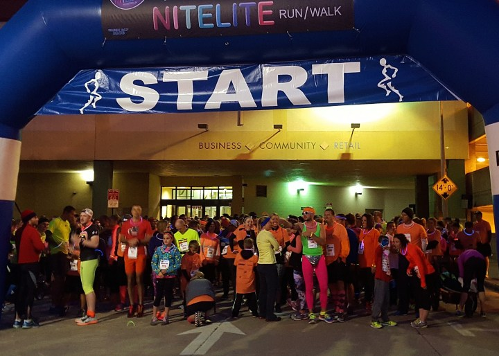 NiteLite Run 2015: We glowed (and then we sweated)