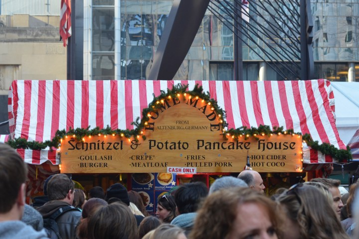 Our schnitzel and pancake house
