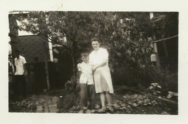 Ron Kostelnik and Grandma Jay