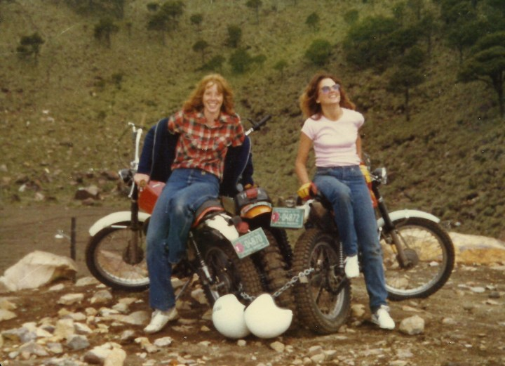 Ann and Me in Guatemala