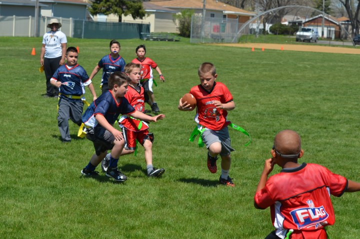 Ben's football game 151