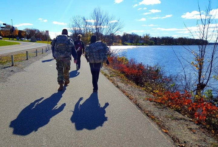 Team Rebuild and the long walk for veterans