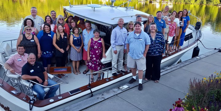 A sunset cruise with the class of '82