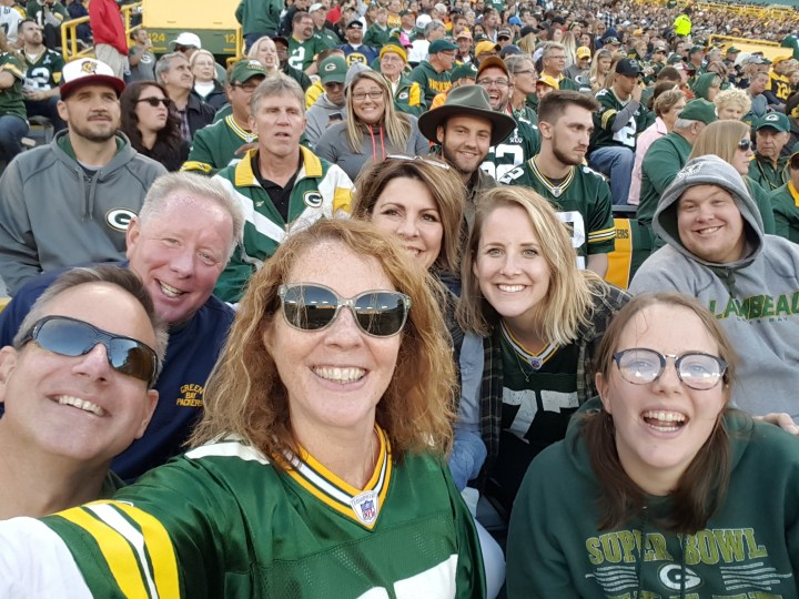 God, family and the Green Bay Packers