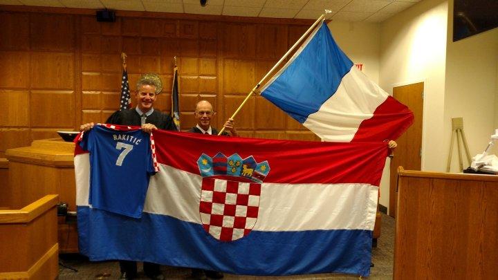 The sweet taste of (hopefully a Croatian) victory