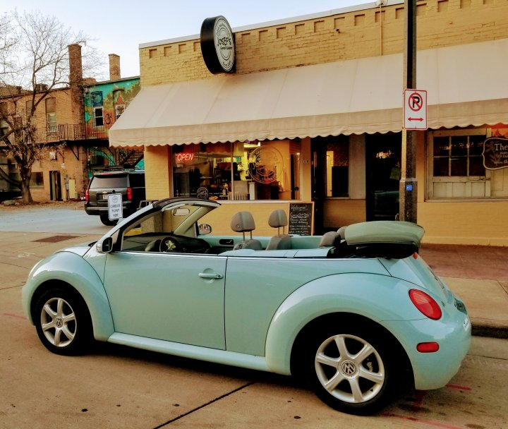 Friday Faves: The Euro Shop, Josef's Gyros and my Bug