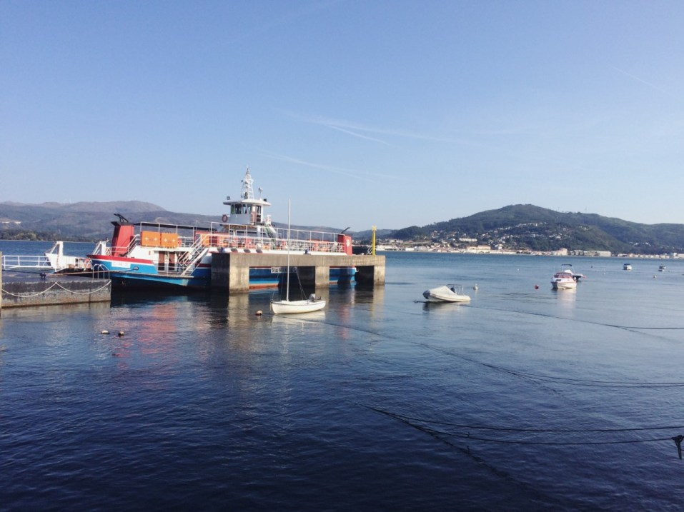 The ferry I took to cross into Spain (taken from Spain)