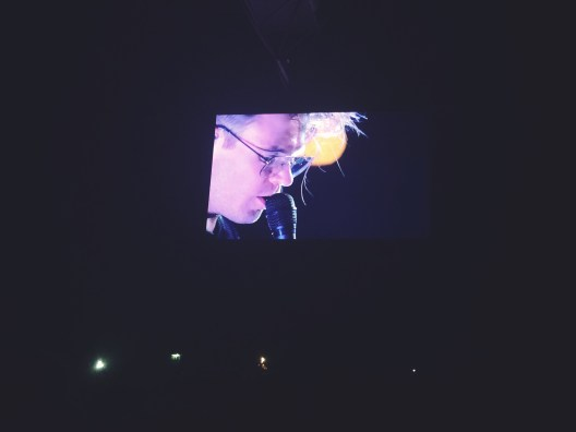 Rou on the big screen! (London)
