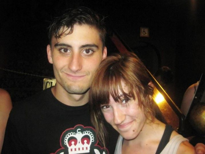 16ish-year-old me and Kyle