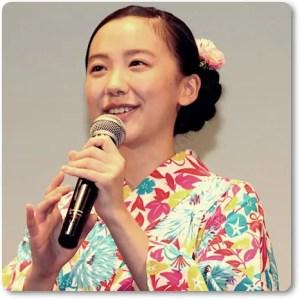 芦田愛菜、浴衣姿