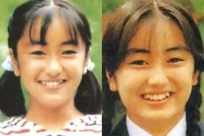 矢田亜希子,若い頃,中学時代