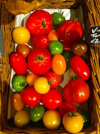 Lovely toms in the Farm Shop