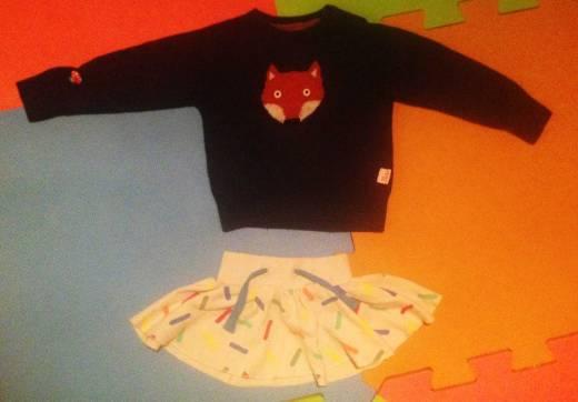 Tootsa MacGinty jumper and Boys&Girls skirt