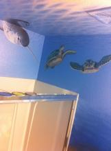 Narwhal and Sea Turtles
