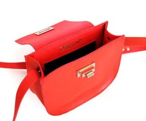 Sac ouvert rouge