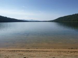 Shore of Phelps Lake, Grand Teton National Park, WY