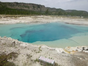 Turquoise Pool, Biscuit Basin, Yellowstone National Park, WY