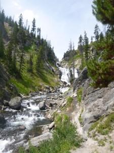 Mystic Falls, Yellowstone National Park, WY