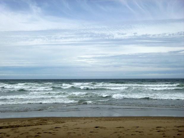 Rough breaks, Pacific Ocean, Oregon