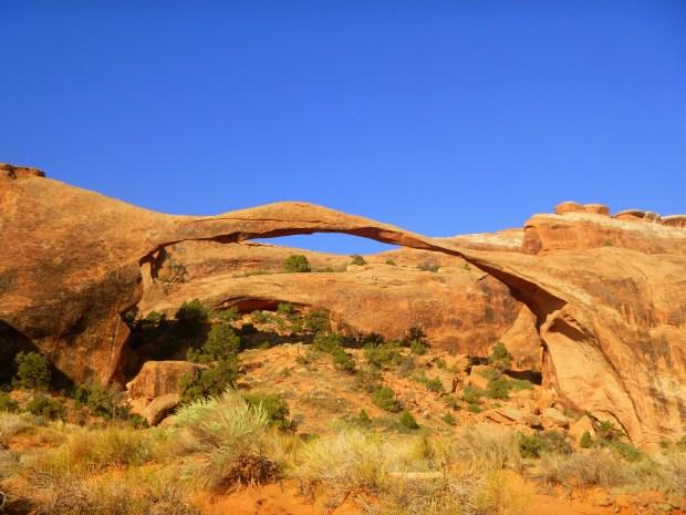 Landscape Arch, Devil's Garden Trail, Arches National Park, Utah