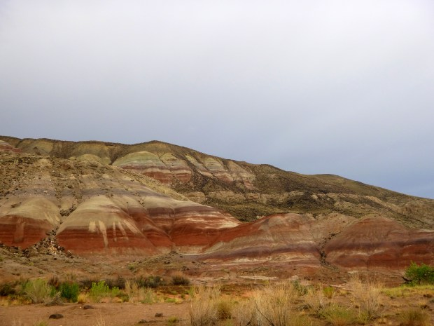 Painted hills in Capitol Reef National Park, Utah