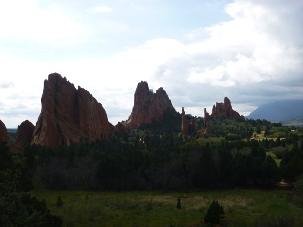 Overlook, Garden of the Gods, Colorado Springs, Colorado