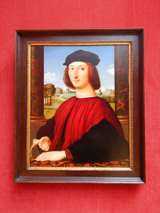 Portrait of a Young Man in Red, Circle of Raphael, ca. 1505