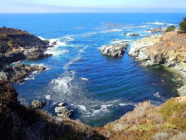 Inlet along Central Coast, California