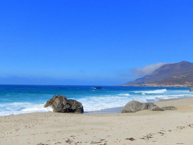 Unknown beach near Big Sur, California