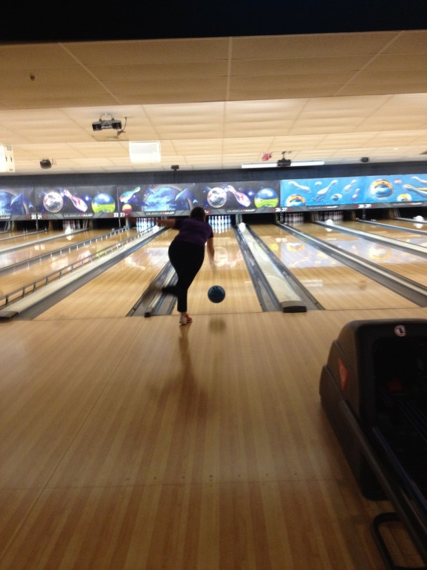 Chrissy bowling