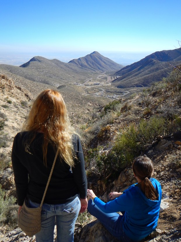 A view from the top, Ron Coleman Trail, McKelligon Canyon, El Paso, Texas