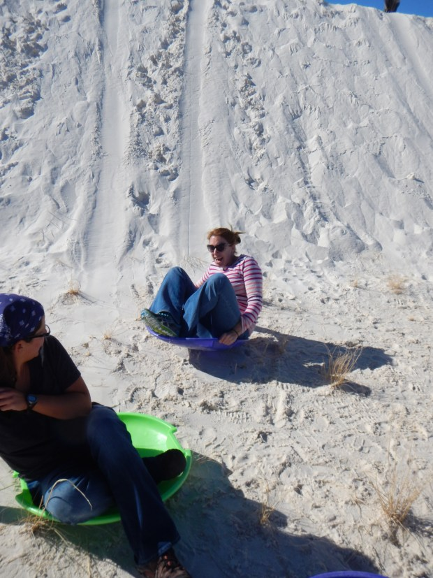 Carrie and I, White Sands National Monument, New Mexico