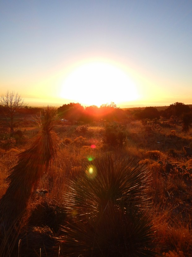 Sunrise on the Guadalupe Peak Trail, Guadalupe Mountains National Park, Texas