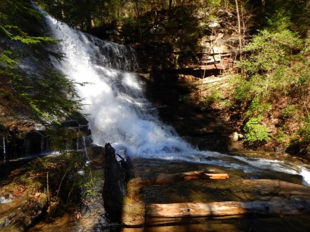 Hemlock Falls, Stone Door Trail, South Cumberland State Park, Tennessee