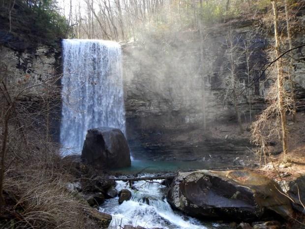 Hemlock Falls, Waterfalls Trail, Cloudland Canyon State Park, Georgia