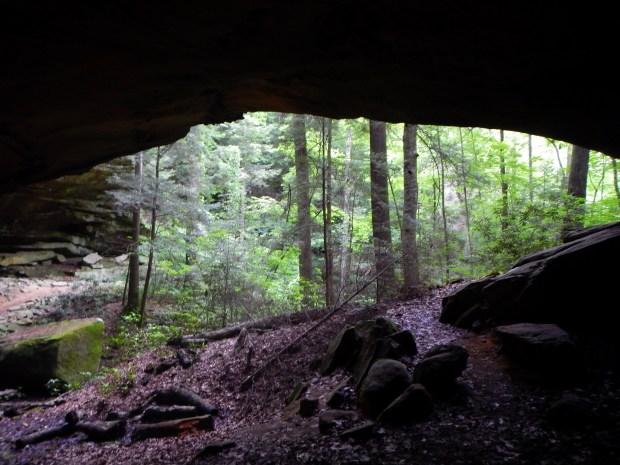 Under Yahoo Arch, Big South Fork Recreation Area, Kentucky