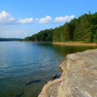 Swimming in Lake Laurel River