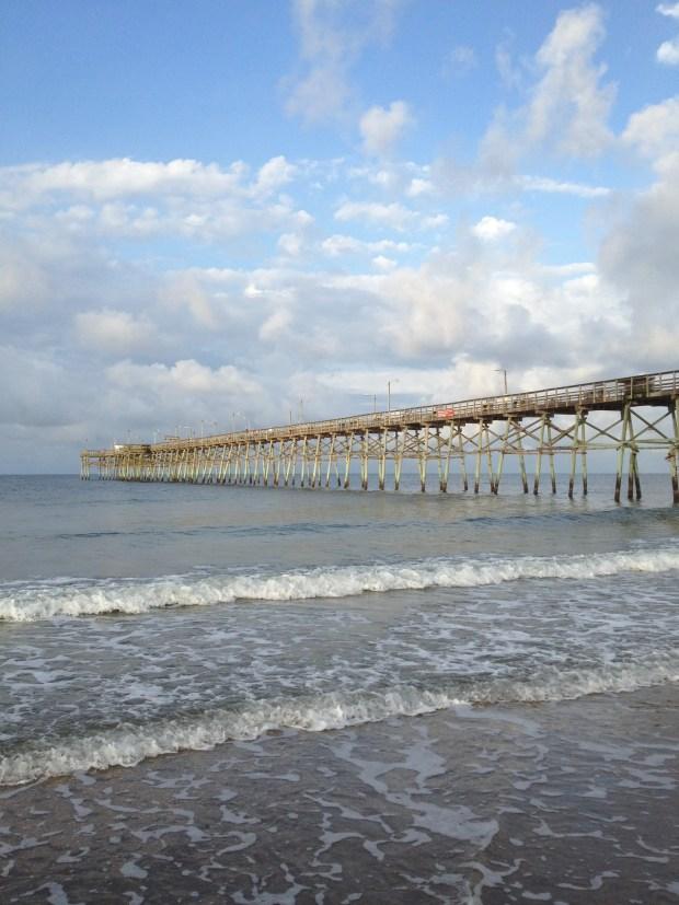 Caswell Beach Pier, Oak Island, North Carolina