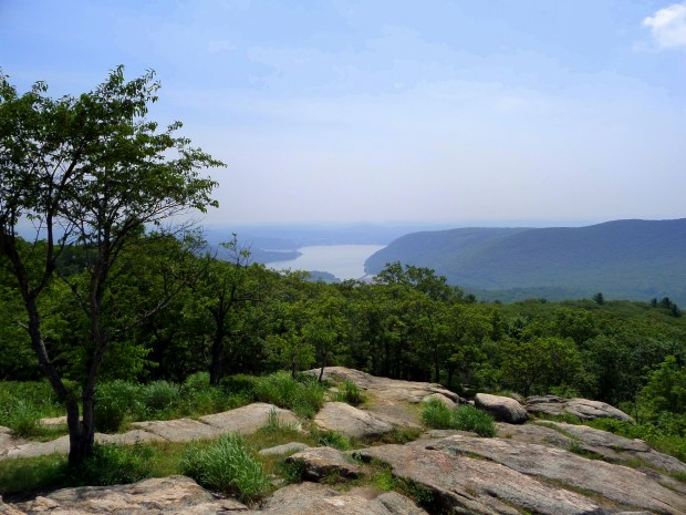 Looking upriver from atop Bear Mountain, Bear Mountain State Park, New York