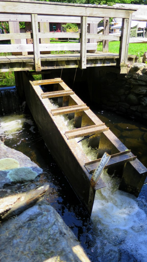Fish ladder for red herring to get over mill dam, Gilbert Stuart Museum, Saunderstown, Rhode Island
