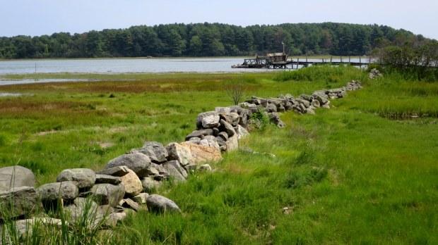 Dock, Goat Island, New Hampshire