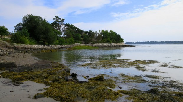 Shore at Fort Stark, New Castle, New Hampshire